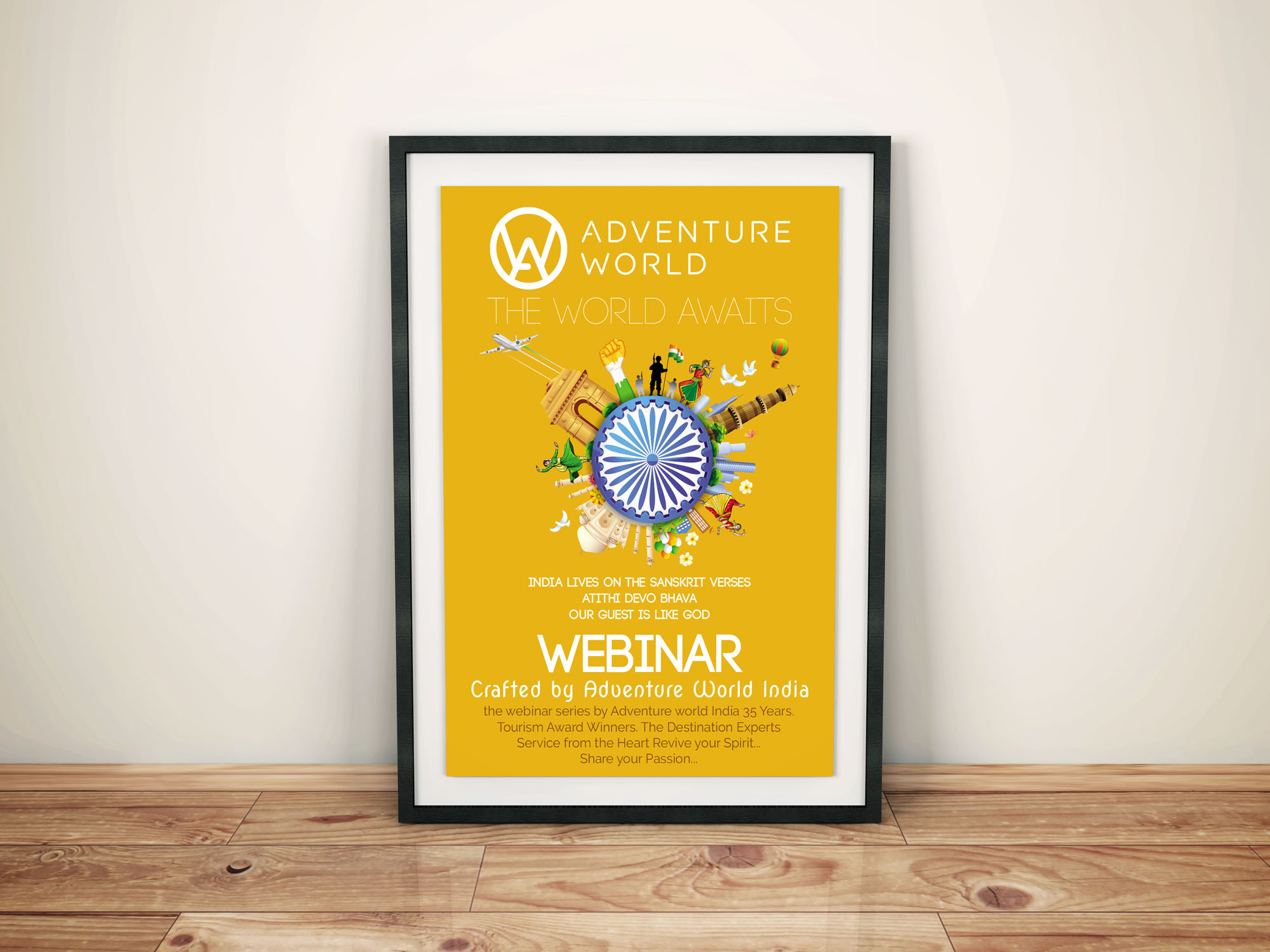 Adventure World India Webinar