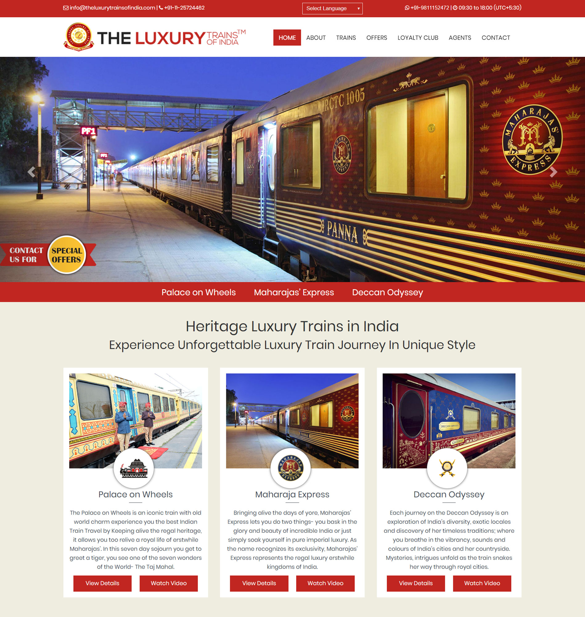 The Luxury Trains of India